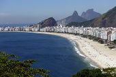 foto of carnival rio  - Copacabana beach - JPG