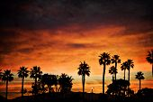 Sunrise on Coronado Island in California