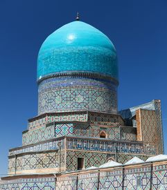 pic of samarqand  - View from Tilla - JPG
