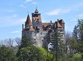 foto of dracula  - Bran Castle  - JPG