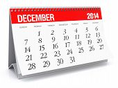 stock photo of new year 2014  - 2014 year calendar - JPG
