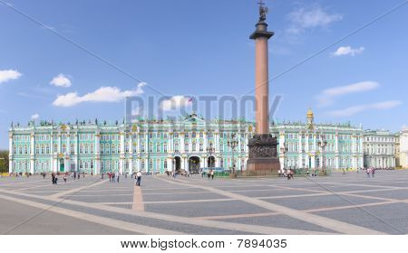 Palace Square Saintpetersburg Russia