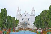 picture of tabernacle  - beautiful portugese colonial style churches are scattered around diu - JPG