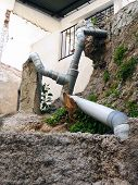 image of sewage  - Intricate solution to installing sewage pipes on rocky ground in Alora - JPG