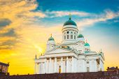 pic of senators  - Helsinki Cathedral - JPG