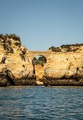 image of lagos  - The rocky coast of Lagos on the Altantic ocean - JPG