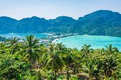 image of koh phi-phi  - Travel vacation background  - JPG