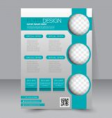 picture of brochure  - Flyer template - JPG