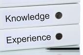 image of experiments  - With successful knowledge and experience to success business concept - JPG