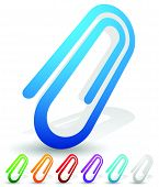 picture of appendicitis  - Paper clip clip icon element - JPG