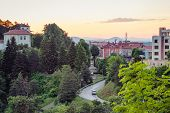 Townscape Of The Belogradchik City In Bulgaria poster