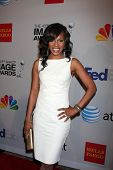 LOS ANGELES - FEB 11:  Wendy Raquel Robinson arrives at the NAACP Image Awards Nominees Reception at