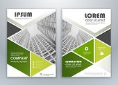 Green Modern Brochure Design, Brochure Template, Brochures, Brochure Layout, Brochure Cover, Brochur poster
