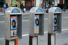 image of phone-booth  - urban pay phones - JPG