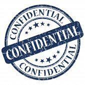 Confidential Blue Stamp