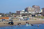 Skiboat Club And Beachfront In Durban South Africa