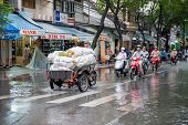 Rainy day in Saigon