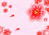 fantasy floral background