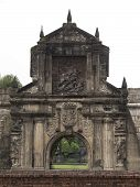 picture of luzon  - Fort Santiago in historical district of Manila - JPG