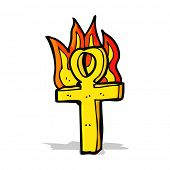 pic of ankh  - cartoon ankh symbol - JPG
