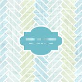 stock photo of linoleum  - vector abstract textile stripes parquet frame seamless pattern background - JPG