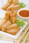 pic of wanton  - Asian Starters  - JPG
