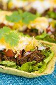image of shredded cheese  - Beef Tacos  - JPG
