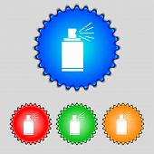 image of spray can  - Graffiti spray can sign icon - JPG