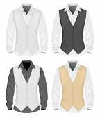 picture of button down shirt  - Formal wear for men - JPG