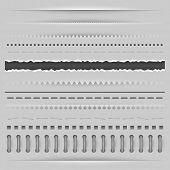 pic of cut torn paper  - Paper cut - JPG