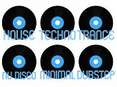 pic of nu  - Vinyls with Different Electronic Music Genres 1 - JPG