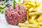 stock photo of tartar  - tasty Steak tartare  - JPG