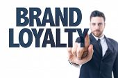 foto of loyalty  - Business man pointing the text - JPG