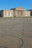stock photo of neo-classic  - historic glyptothek in munich famous building k - JPG