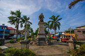 Постер, плакат: Colon Panama April 14 2015 : Colon Is A Sea Port On The Caribbean Sea Coast Of Panama The City