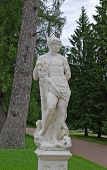 foto of tsarskoe  - Statue in Catherine - JPG