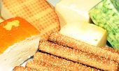 Cheese And Sesame Sticks